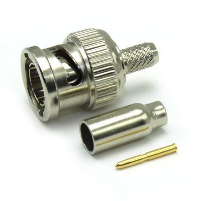 BNC High Definition Crimp/Crimp Plug, True 75ohm (3G) - Image 4