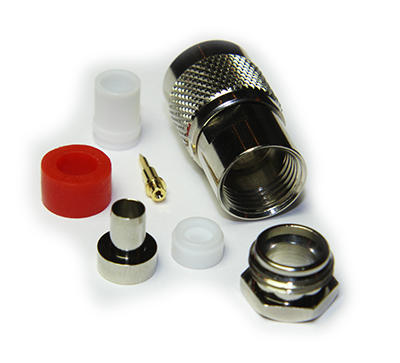 TNC Straight Solder / Top Hat Clamp Plug - Image 4