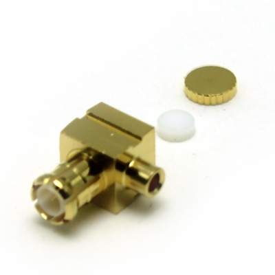 45-108-D3-HD - MCX Right Angle Solder / Solder Plug