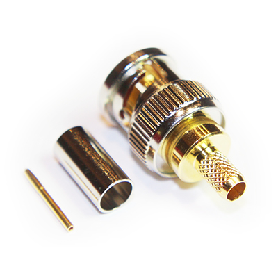 BNC Ultra HD 12G Straight Crimp / Crimp Plug True 75 Ohm - Image 3