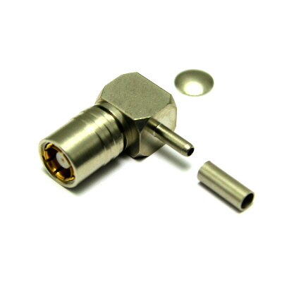 43-105-D6-AB - S43/4C BT Right Angle Solder / Crimp Socket